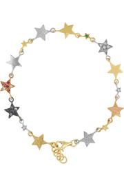 Superstellar All Star 18-karat gold multi-stone bracelet