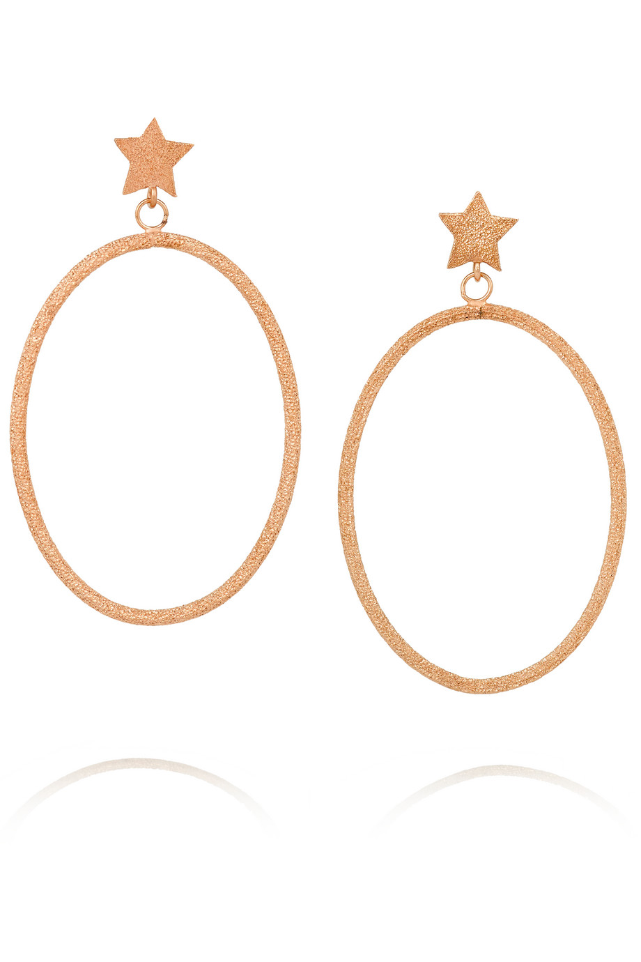 Carolina Bucci Shooting Star 18-Karat Rose Gold Earrings, Women's