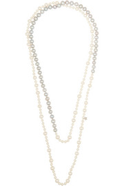 Carolina Bucci Pearl and diamond necklace
