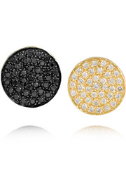 Ileana Makri Freedom Eclipse 18-karat gold diamond earrings