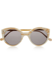Palm Beach round-frame acetate sunglasses
