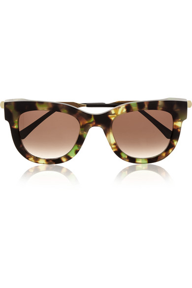 Thierry Lasry Sexxxy D-frame acetate and gold-plated ...