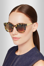 Thierry Lasry Sexxxy D-frame acetate and gold-plated sunglasses