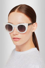 Thierry Lasry Cheeky cat-eye acetate sunglasses