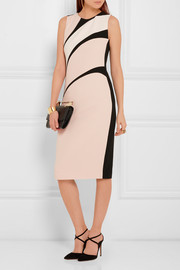 Narciso Rodriguez Textured-crepe dress
