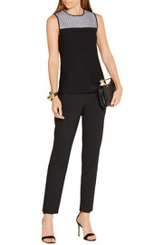 Narciso Rodriguez Stretch wool-blend top
