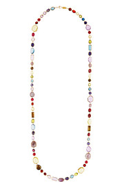 Rock Candy Sofia 18-karat gold multi-stone necklace