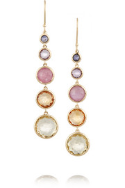 Ippolita Rock Candy® Lollitini 18-karat gold multi-stone earrings