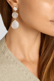 Ippolita Rock Candy® Crazy 8's 18-karat gold mother-of-pearl earrings