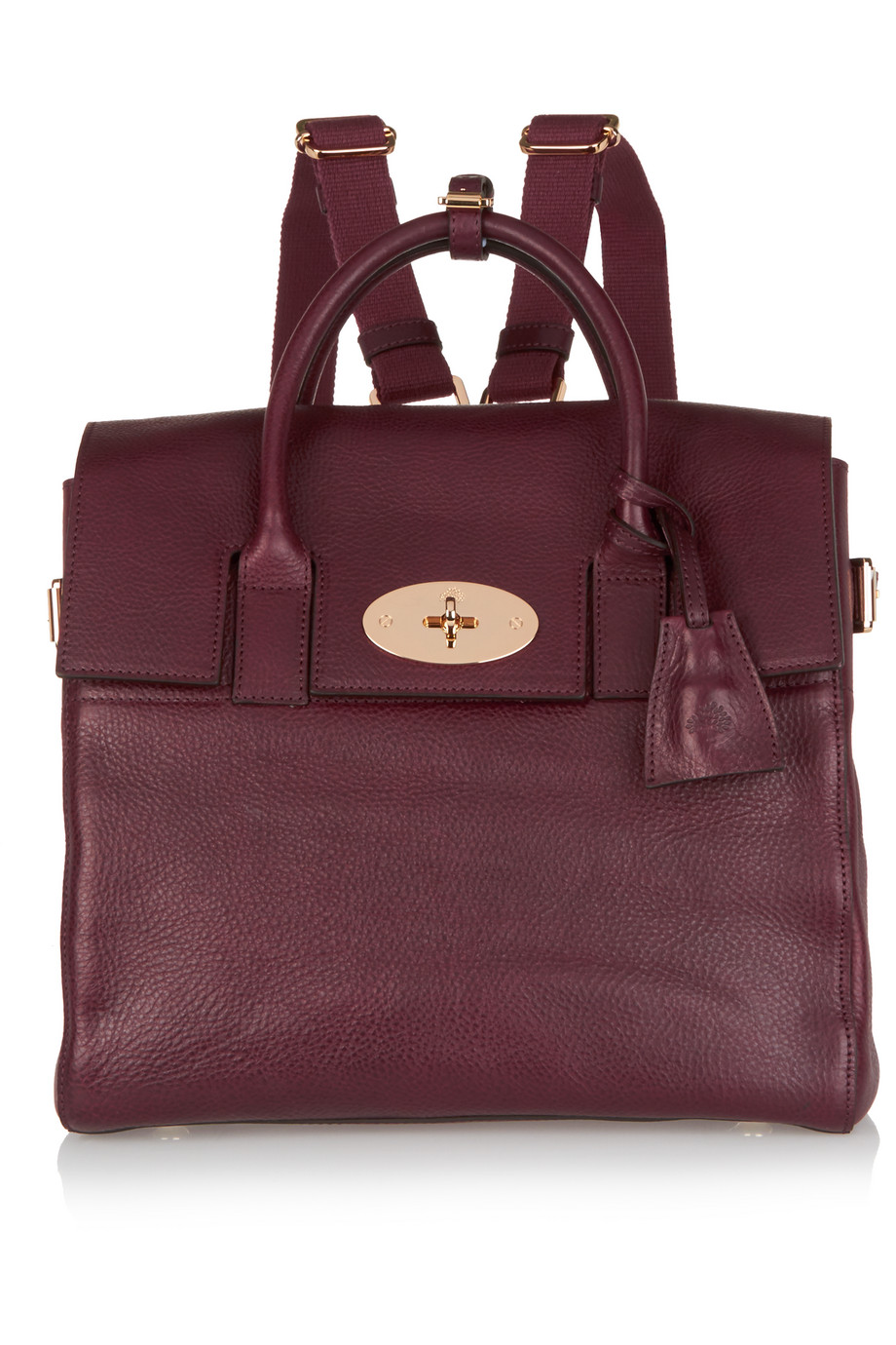 Mulberry + Cara Delevingne Medium Leather Backpack