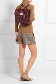 Mulberry + Cara Delevingne medium leather backpack
