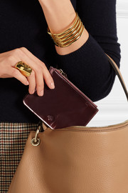 Mulberry Patent-leather pouch