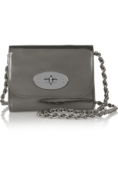0f84005eb27 Mulberry | Lily mini metallic leather shoulder bag | NET-A-PORTER.COM