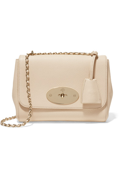 996ff69709 Mulberry. Lily small textured-leather shoulder bag