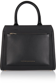 City Victoria small leather tote