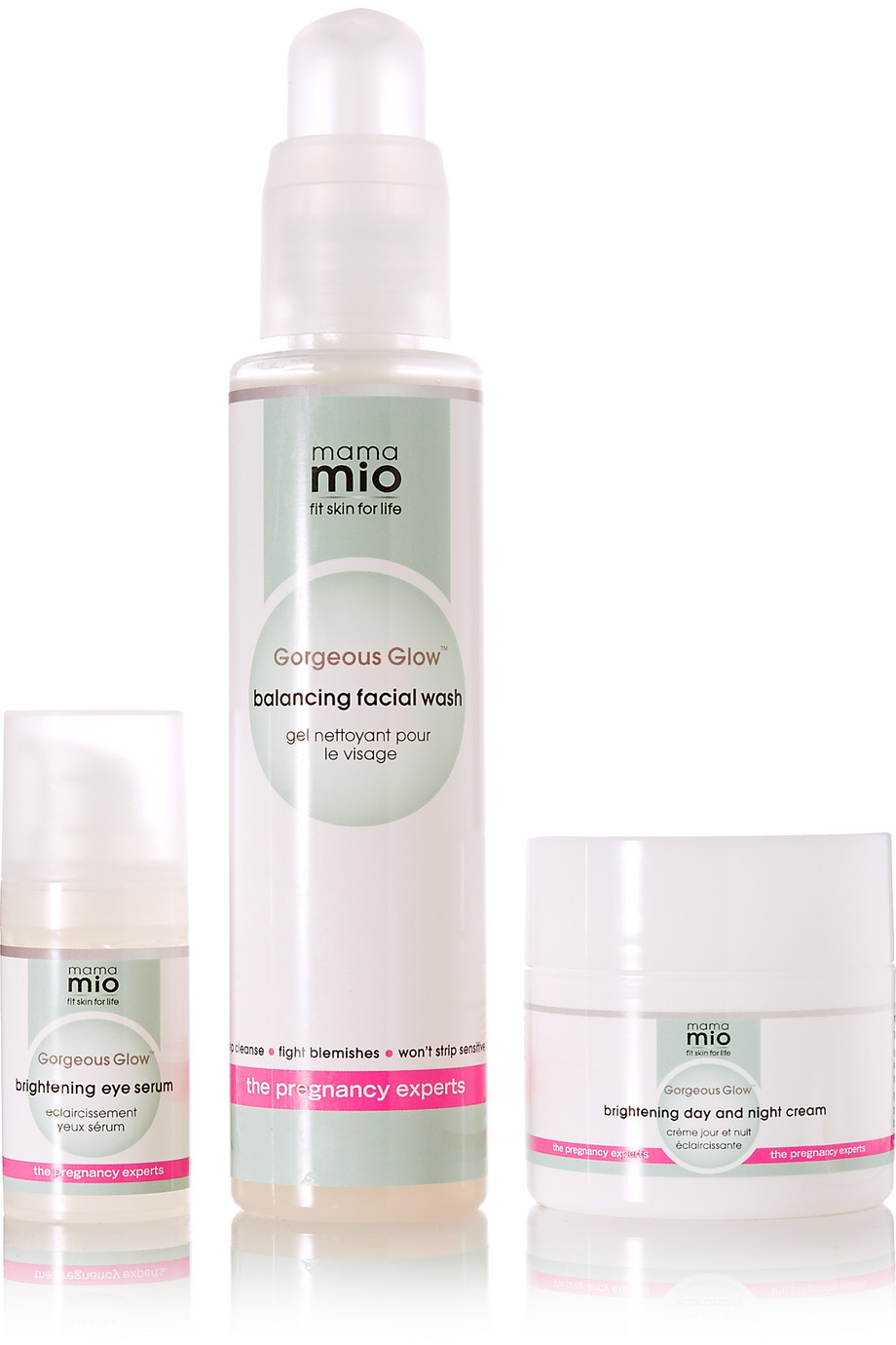 Gorgeous Glow 3 Step Skincare System, by Mama Mio