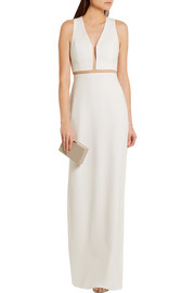 Alexander Wang Cutout crepe gown