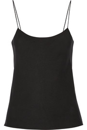 The Row Biggins matte-satin camisole