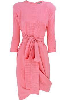 Preen|Whoosh tie-front dress|NET-A-PORTER.COM from net-a-porter.com