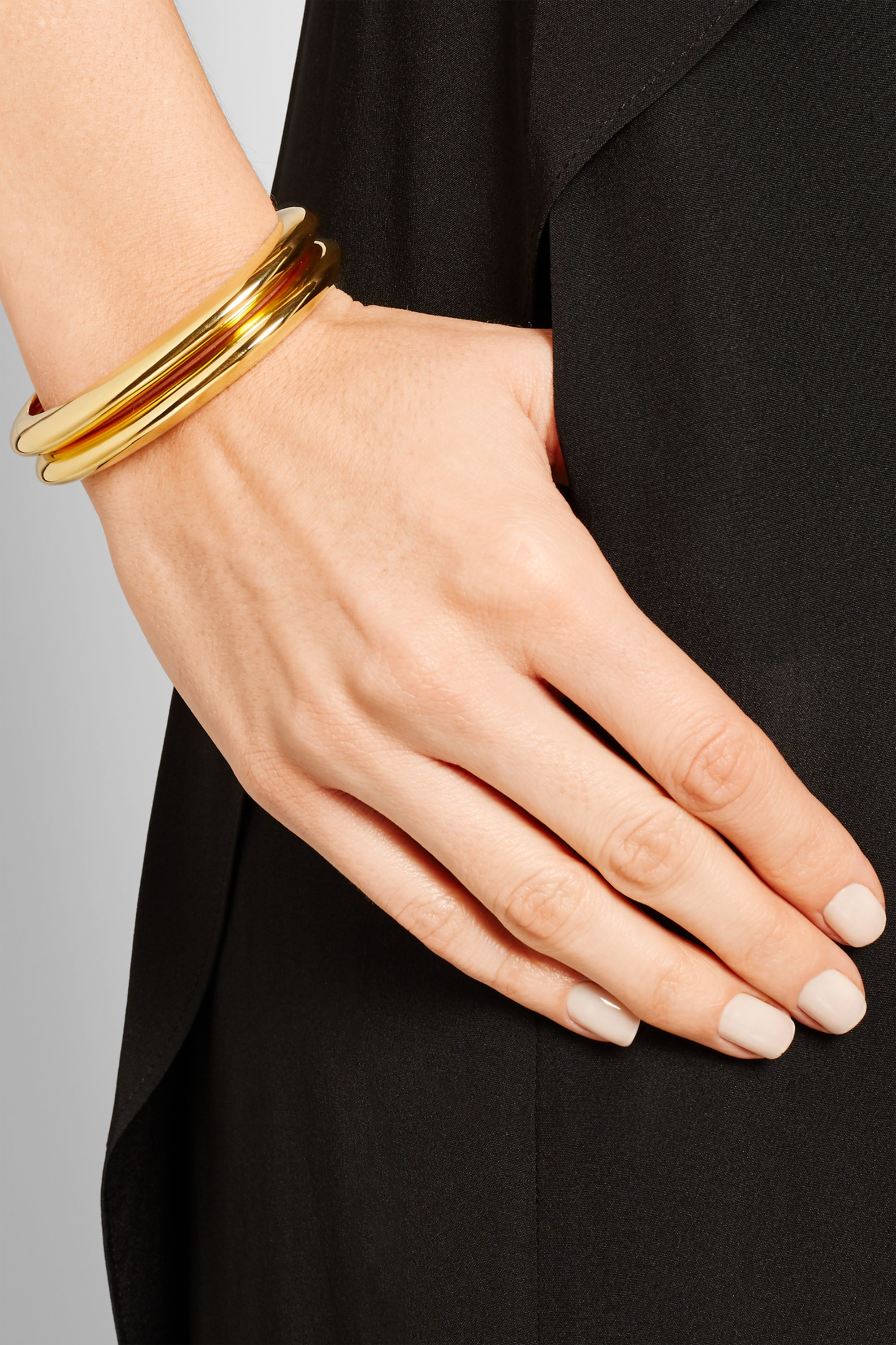 Arme De L'Amour Gold-plated cuff