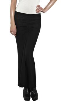 Rick Owens Lilies Jersey fishtail skirt