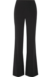 Joan stretch-crepe wide-leg pants