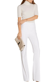 Diane von Furstenberg Joan stretch-crepe wide-leg pants