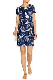 Diane von Furstenberg Zoe printed silk-jersey mini dress