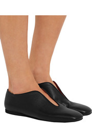 Stella McCartney Faux leather slippers