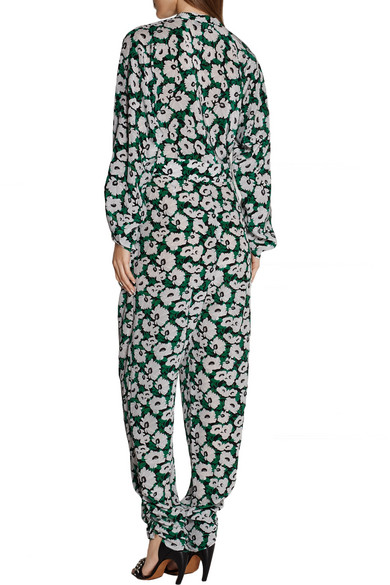 33e43e2dbbc5f Stella McCartney. Monia floral-print silk-crepe jumpsuit. £525.00. Play