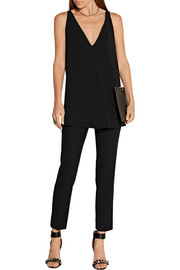 Stella McCartney Sutton crepe top