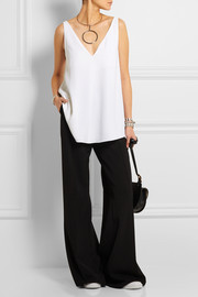 Stella McCartney Sutton stretch-crepe top