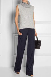 Stella McCartney Jasmine wool-twill wide-leg pants