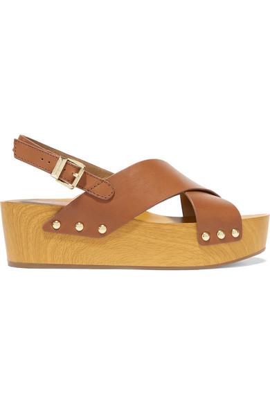 9f476f8e0ee Sam Edelman. Bentlee leather platform sandals