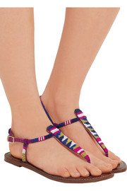 Sam Edelman Gail beaded leather sandals