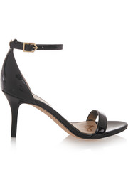 Patti patent-leather sandals