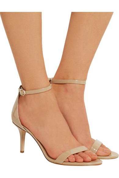 8512ba67f Sam Edelman. Patti faux patent-leather sandals