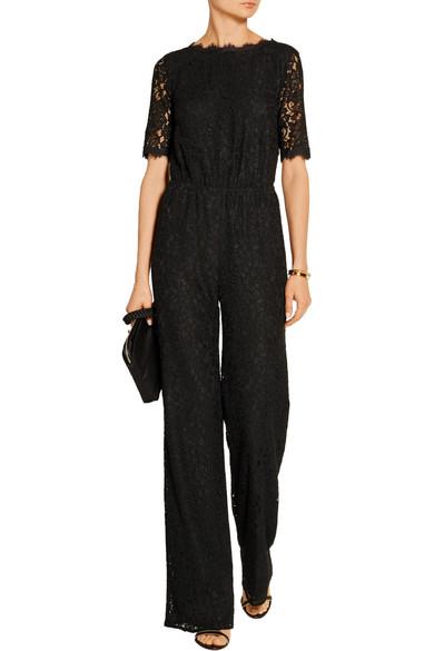 73a5ae0d2196 Diane von Furstenberg. Kendra open-back lace jumpsuit