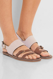 Tod's Leather and suede sandals