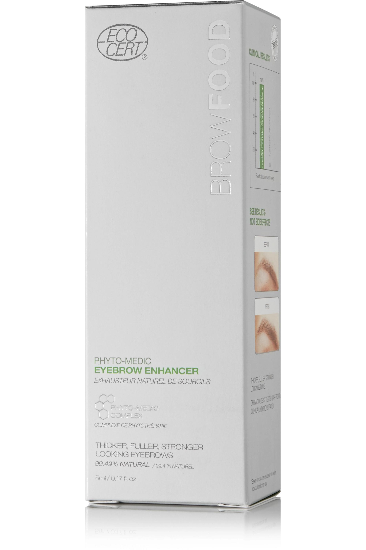 LashFood BrowFood Phyto-Medic Natural Eyebrow Enhancer, 5ml