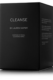 Cleanse by Lauren Napier The Luxe Box - Facial Cleansing Wipes x 12