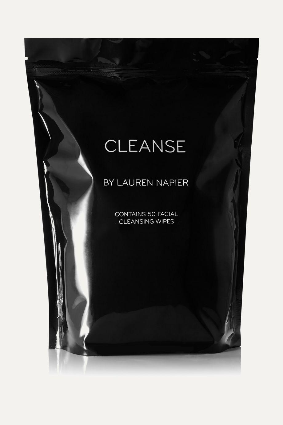 Lauren Napier Beauty The Abundance Package – Facial Cleansing Wipes x 50 – Gesichtsreinigungstücher