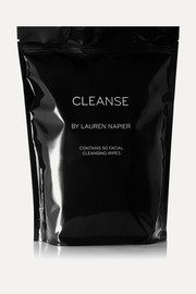 Cleanse by Lauren Napier The Abundance Package - Facial Cleansing Wipes x 50