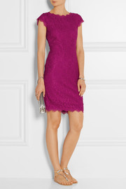 Barbara corded lace dress