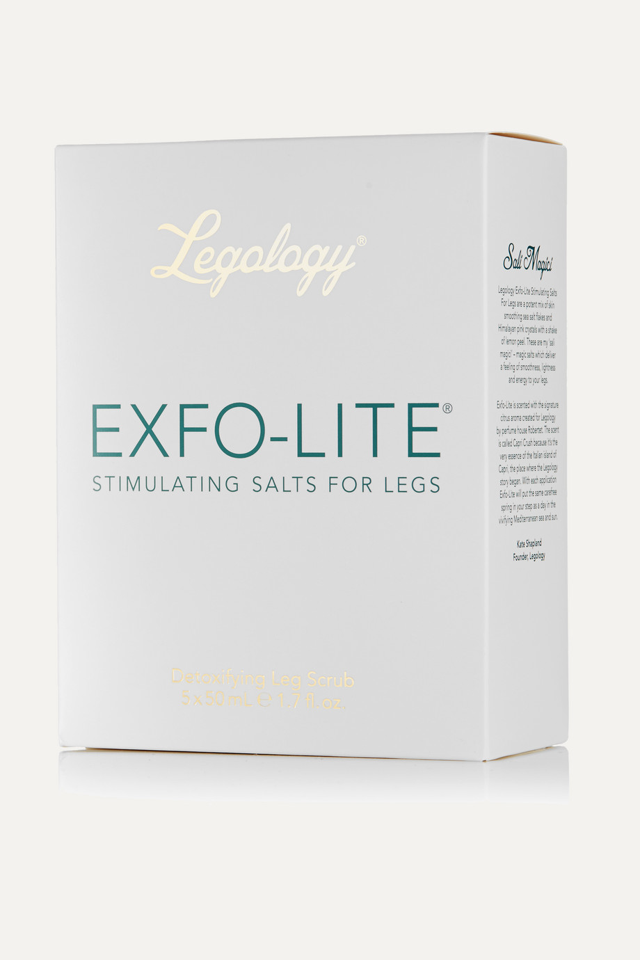Legology Exfo-Lite Leg Exfoliator, Set of 5