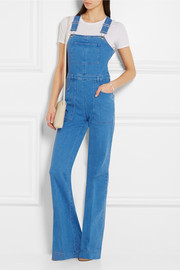 Stella McCartney Stretch-denim overalls