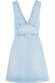 Anne stretch-denim mini dress