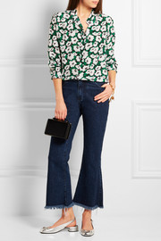 Stella McCartney Eva floral-print silk shirt