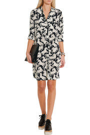 Stella McCartney Shereen printed silk crepe de chine dress