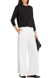 Stella McCartney Darci stretch-crepe wide-leg pants